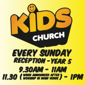 Kids Church*Every Sunday*Click for more information